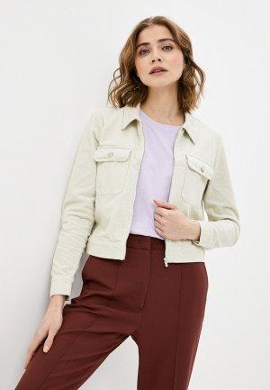 Куртка Jacqueline de Yong. Цвет: бежевый