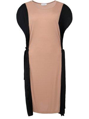 Платье-миди свободного силуэта VIONNET