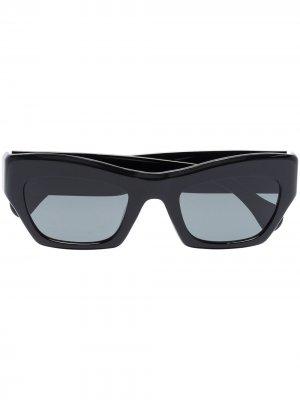 Солнцезащитные очки Ayreen в прямоугольной оправе Port Tanger. Цвет: черный