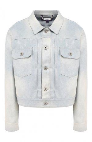 Джинсовая куртка Ralph Lauren. Цвет: синий