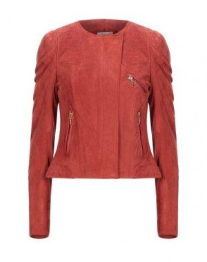 Куртка MIGUEL PALACIO for HOSS INTROPIA. Цвет: кирпично-красный