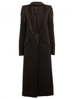 Пальто Spy Ilaria Nistri. Цвет: чёрный