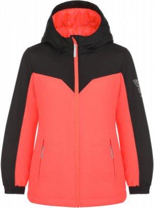 Куртка утепленная для девочек , размер 164 Nordway. Цвет: оранжевый