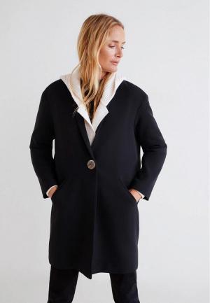 Пальто Mango - GALA. Цвет: черный