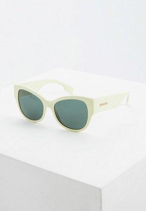 Очки солнцезащитные Burberry BE4294 38153H. Цвет: зеленый