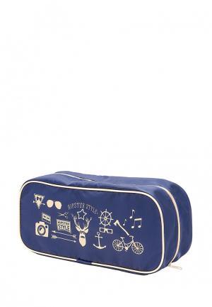 Органайзер для хранения Homsu Hipster Style Premium. Цвет: синий