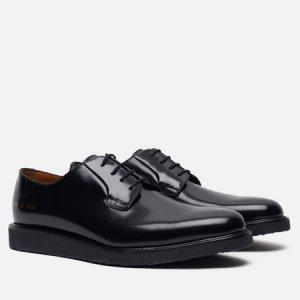 Мужские ботинки Derby Shine Common Projects. Цвет: чёрный