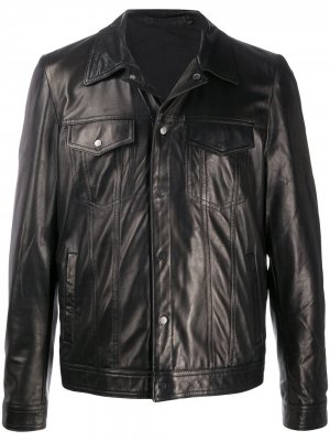 Куртка узкого кроя Salvatore Santoro. Цвет: черный