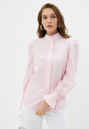 Рубашка Bezko. Цвет: розовый