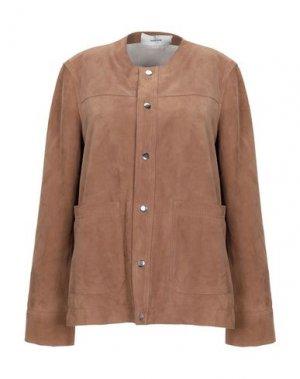 Куртка MAURO GRIFONI. Цвет: коричневый