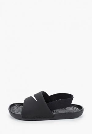 Сланцы Nike KAWA SLIDE (TD). Цвет: черный
