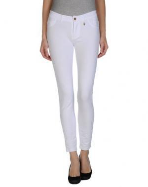 Повседневные брюки MET. Цвет: белый