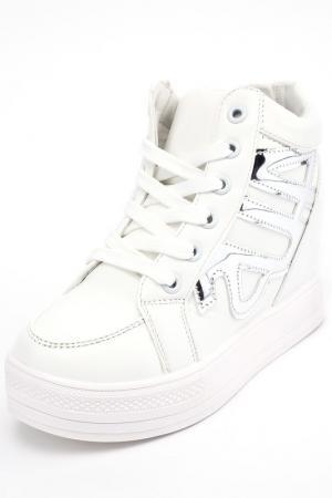 Ботинки Brucco. Цвет: белый