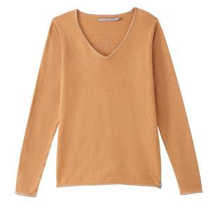 Пуловер кашемировый, V-образный вырез, логотип FREEMAN сзади T. PORTER. Цвет: темно-бежевый,черный