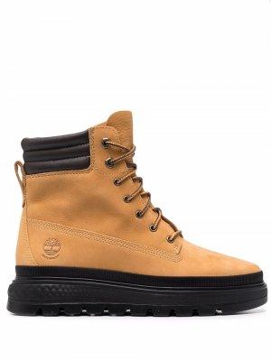 Ботинки Spruce Timberland. Цвет: желтый