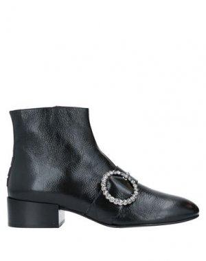 Полусапоги и высокие ботинки 181. Цвет: черный