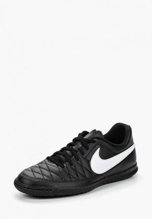 Бутсы зальные Nike Majestry IC. Цвет: черный