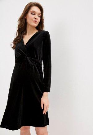 Платье BuduMamoy. Цвет: черный