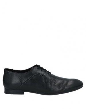 Обувь на шнурках HUDSON. Цвет: черный