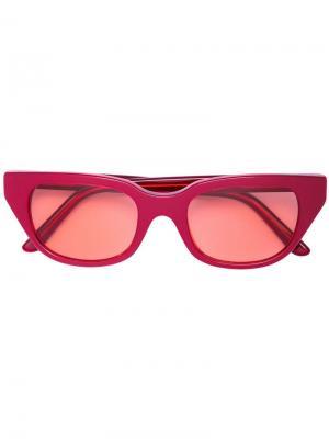 Солнцезащитные очки CTNMB Heron Preston. Цвет: красный