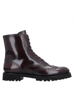 Полусапоги и высокие ботинки CHURCH'S. Цвет: красно-коричневый