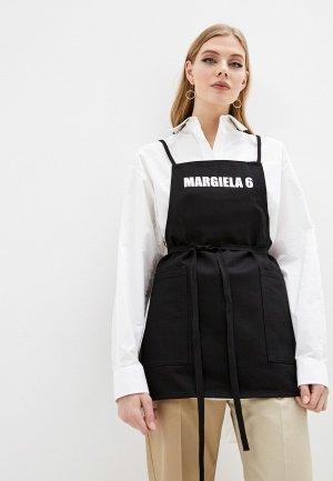 Сарафан MM6 Maison Margiela. Цвет: черный