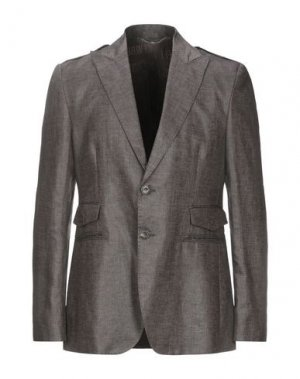 Пиджак BIKKEMBERGS. Цвет: темно-коричневый