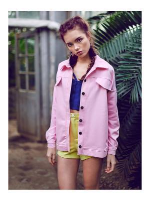Куртка джинсовая C.H.I.C.. Цвет: розовый