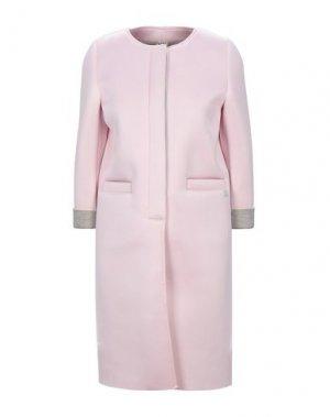 Легкое пальто DOUUOD. Цвет: розовый