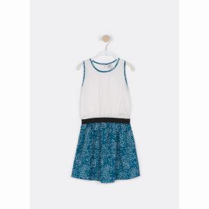 Платье-топ, для 6 - 16 лет LITTLE KARL MARC JOHN. Цвет: сине-зеленый