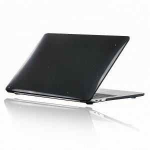 Чехол для ноутбука MacBook Air 13 дюймов с узором звездного неба SHEIN. Цвет: чёрный