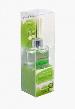 Аромадиффузор Aroma republic Зеленое яблоко. Цвет: зеленый