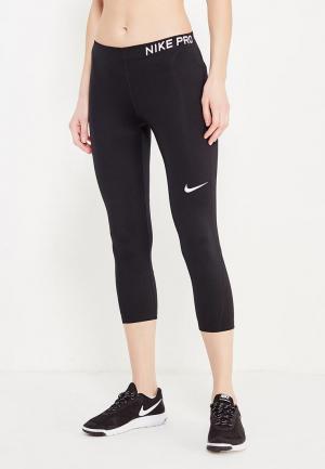 Капри Nike Womens Pro Capris. Цвет: черный