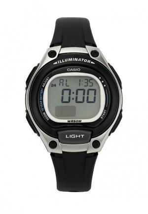 Часы Casio Collection LW-203-1A. Цвет: черный