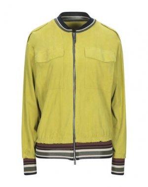 Куртка BRIAN DALES. Цвет: желтый