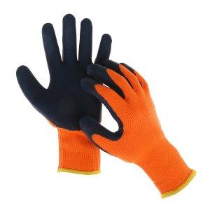 Перчатки нейлоновые, утеплённые до -20°с, с двойным латексным обливом, размер 10 Greengo