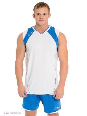 Волейбольная форма SET VOLLEY SMU ASICS. Цвет: синий, белый