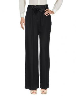 Повседневные брюки EQUIPMENT. Цвет: черный