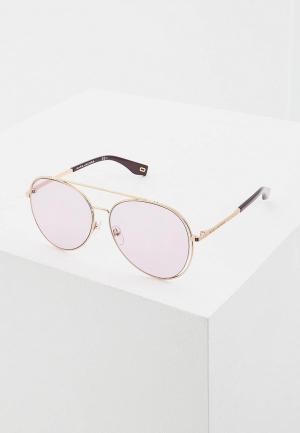 Очки солнцезащитные Marc Jacobs 328/F/S 0T7. Цвет: золотой