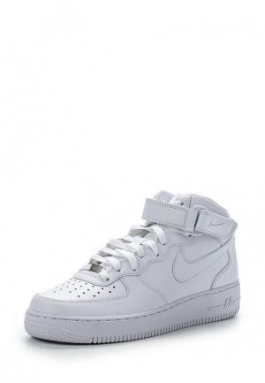 Кроссовки Nike AIR FORCE 1 MID 07 MENS SHOE. Цвет: белый