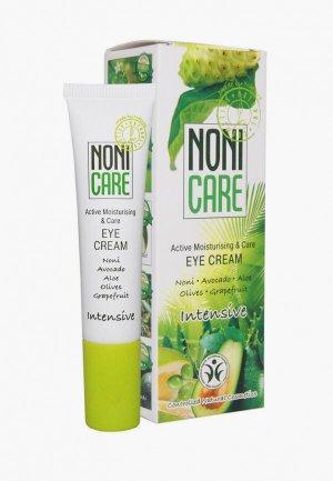 Крем для кожи вокруг глаз Nonicare увлажняющий Eye Cream 15 мл. Цвет: белый