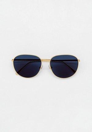 Очки солнцезащитные Fendi FF 0379/G/S LKS. Цвет: золотой