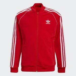 Олимпийка Adicolor SST Originals adidas. Цвет: красный