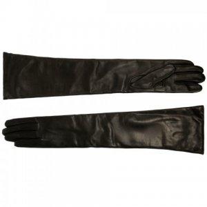 Перчатки Baldinini. Цвет: чёрный