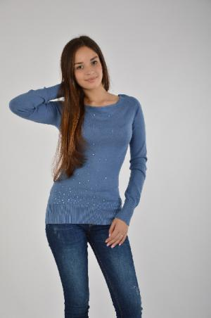 Пуловер Melrose. Цвет: синий