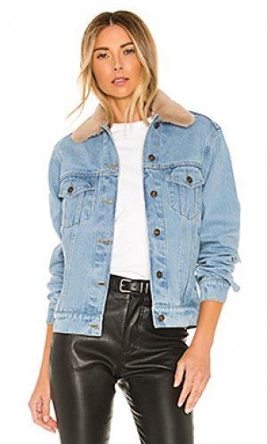Джинсовая куртка lonewolf Understated Leather. Цвет: none