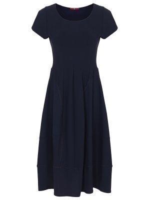 Платье однотонное HIGH
