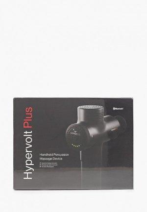 Массажер для тела Hyperice Hypervolt PLUS Bluetooth Black one size. Цвет: черный