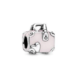 Шарм Moments Розовая дорожная сумка Pandora