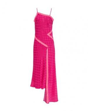 Платье длиной 3/4 HOUSE OF HOLLAND. Цвет: фуксия